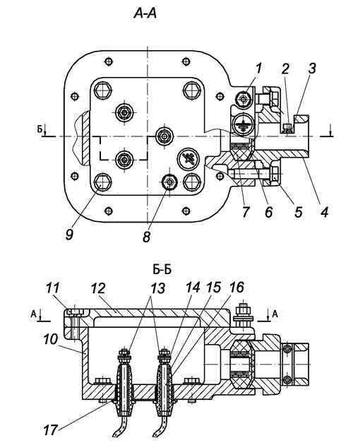 Конструкция коробки выводов двигателей ВРА132