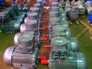 рудничные взрывозащищенные электродвигатели